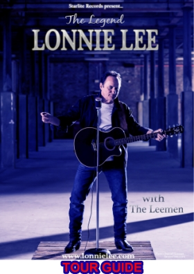 Lonnie Lee Blue Poster